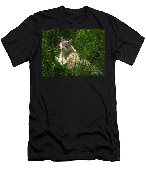 Jungle Cat Men's T-Shirt (Athletic Fit)
