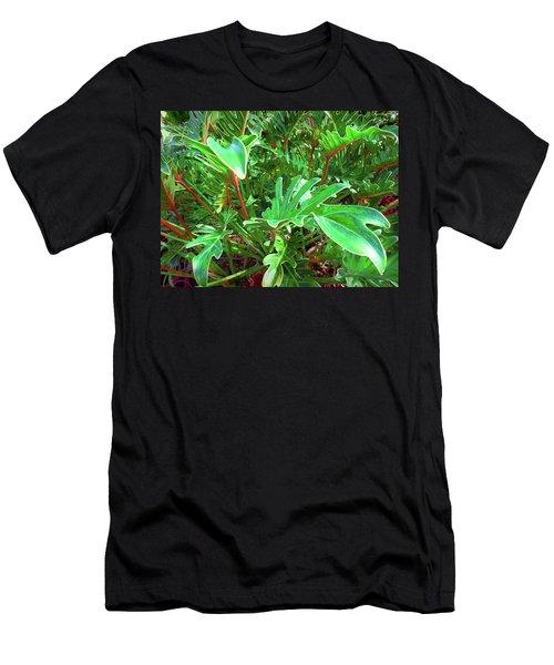 Jungle Greenery Men's T-Shirt (Athletic Fit)