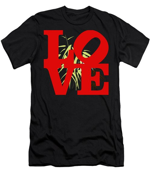 Jungle Love Tee Men's T-Shirt (Athletic Fit)