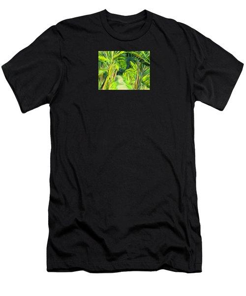 Jungle Path Men's T-Shirt (Athletic Fit)