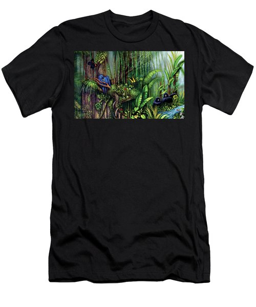 Jungle Talk Men's T-Shirt (Athletic Fit)