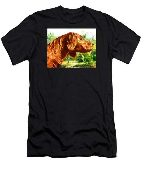 Junior's Hunting Dog Men's T-Shirt (Athletic Fit)