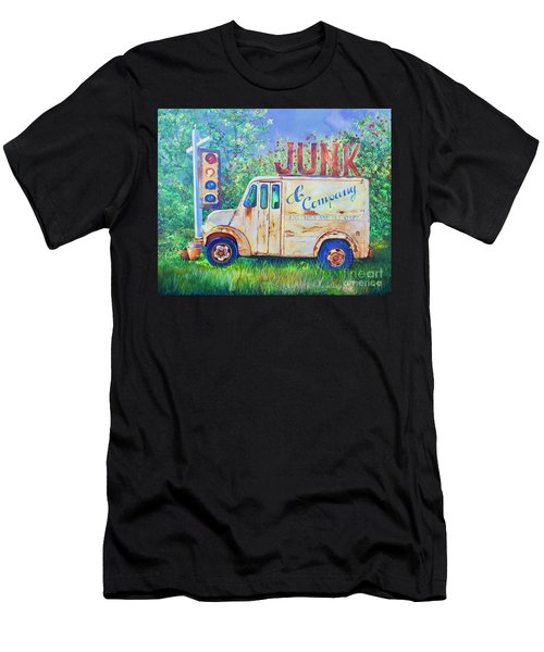 Junk Truck Men's T-Shirt (Athletic Fit)