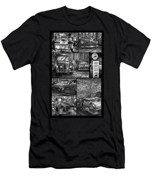 Junk Yard Cars Men's T-Shirt (Athletic Fit)