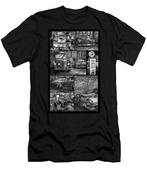 Junk Yard Cars Men's T-Shirt (Athletic Fit)