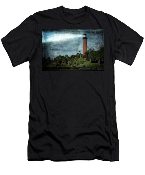 Jupiter Lighthouse-2a Men's T-Shirt (Athletic Fit)
