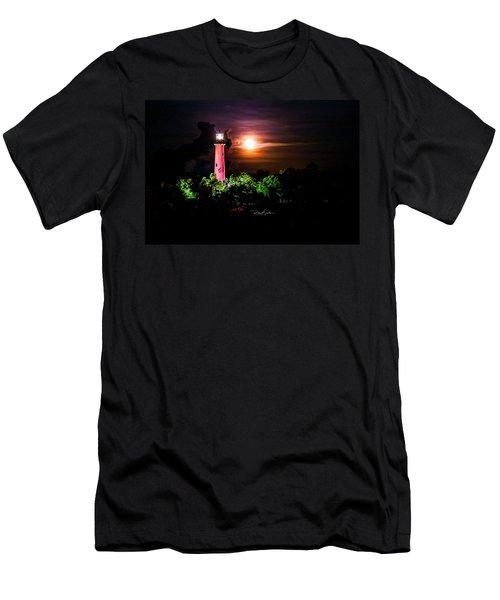 Jupiter Lighthouse Men's T-Shirt (Athletic Fit)
