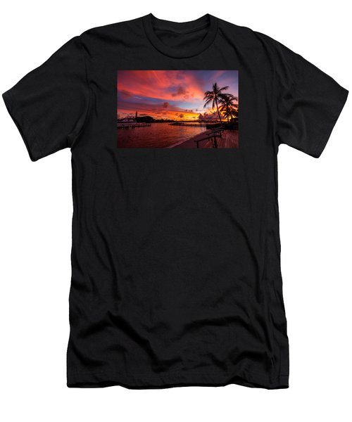 Jupiter Sunrise Men's T-Shirt (Athletic Fit)
