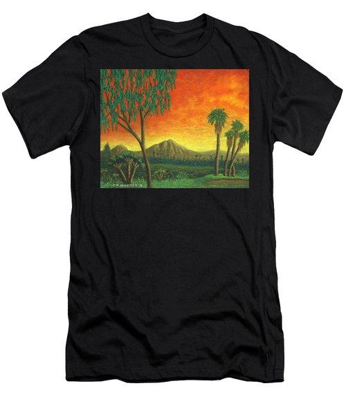 Jurassic Park Blvd 01 Men's T-Shirt (Athletic Fit)