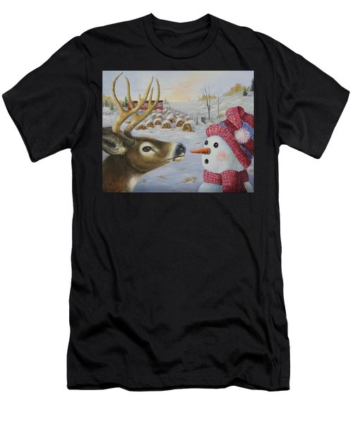 Just A Nibble Men's T-Shirt (Athletic Fit)