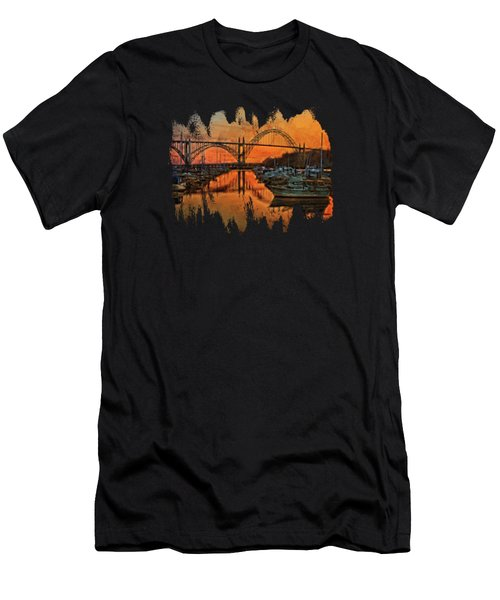 Just After Sunset  Men's T-Shirt (Athletic Fit)