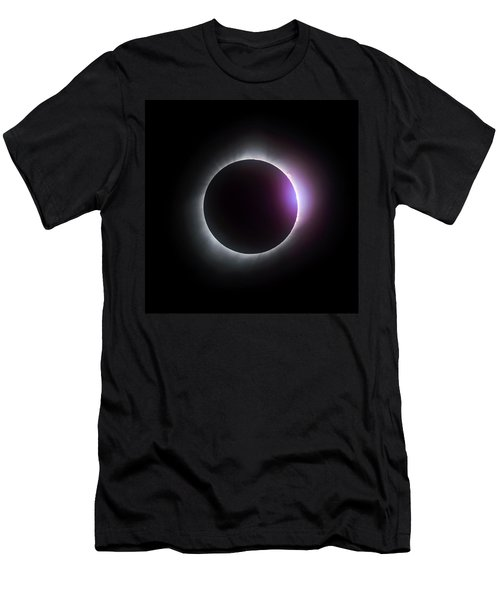 Just After Totality - Solar Eclipse August 21, 2017 Men's T-Shirt (Athletic Fit)