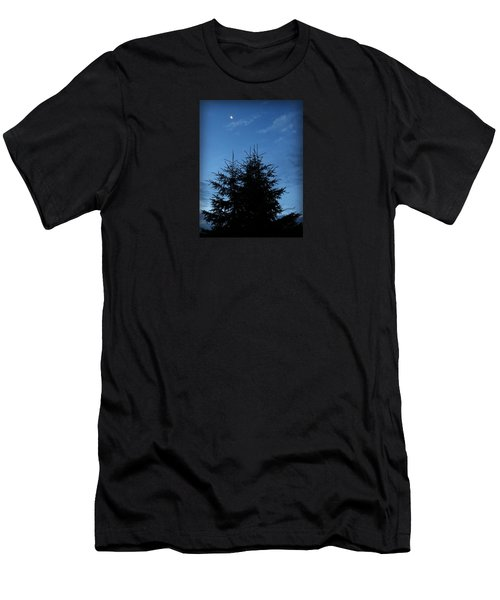 Men's T-Shirt (Slim Fit) featuring the photograph Just Before Sunrise by Robin Regan
