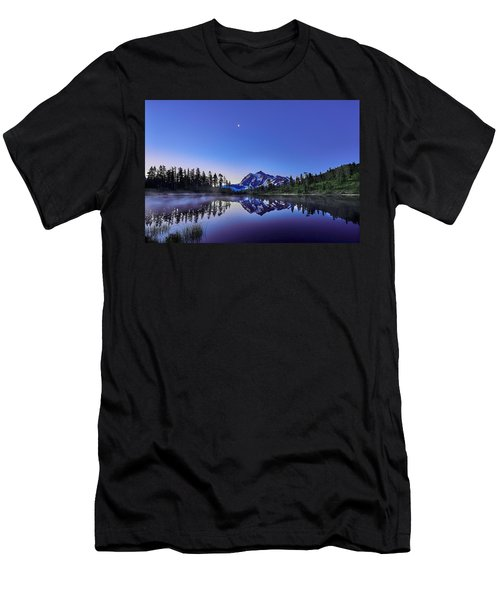 Men's T-Shirt (Slim Fit) featuring the photograph Just Before The Day by Jon Glaser