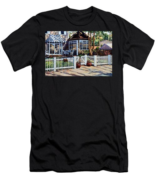 Just Beyond The Pickets Men's T-Shirt (Athletic Fit)