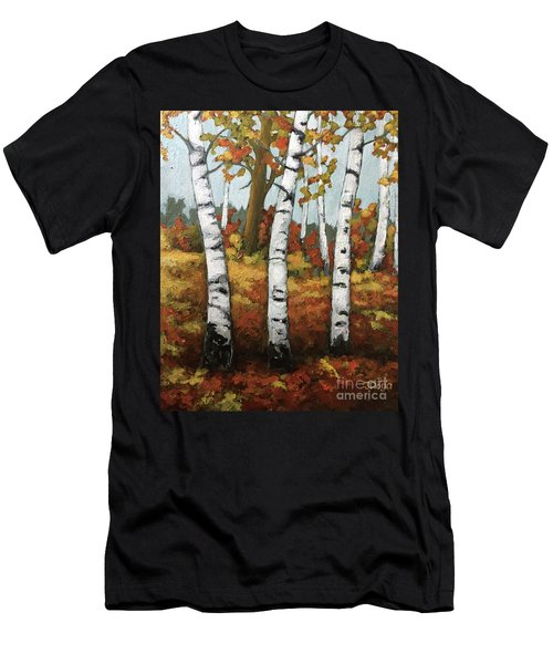 Just Birches Men's T-Shirt (Athletic Fit)