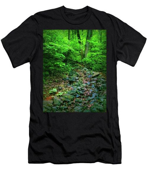Just Breath Men's T-Shirt (Athletic Fit)