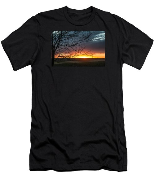 Just Breathe Men's T-Shirt (Slim Fit) by Shirley Heier