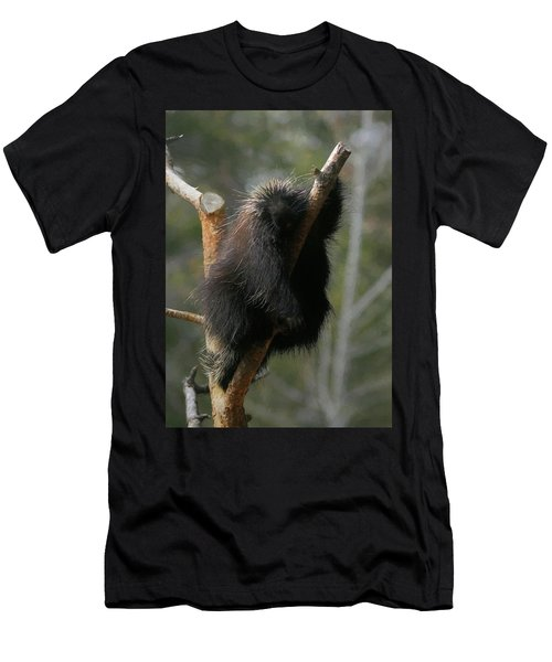 Men's T-Shirt (Slim Fit) featuring the digital art Just Chillin by Ernie Echols