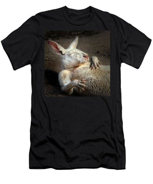 Men's T-Shirt (Slim Fit) featuring the photograph Just Chilling by Marion Cullen