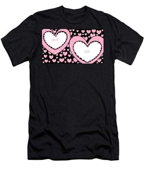 Just Hearts 2 Men's T-Shirt (Athletic Fit)