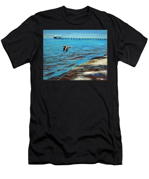 Just Passing By Men's T-Shirt (Athletic Fit)
