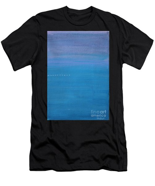 Men's T-Shirt (Athletic Fit) featuring the painting Just Under The Surface II by Kim Nelson