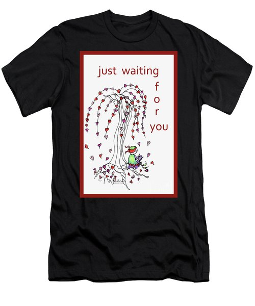 Just Waiting For You Men's T-Shirt (Athletic Fit)
