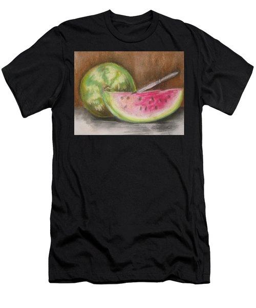 Just Watermelon Men's T-Shirt (Athletic Fit)