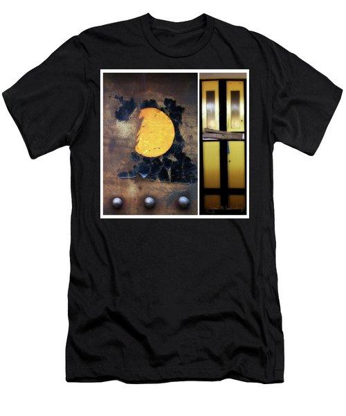 Juxtae #78 Men's T-Shirt (Slim Fit) by Joan Ladendorf