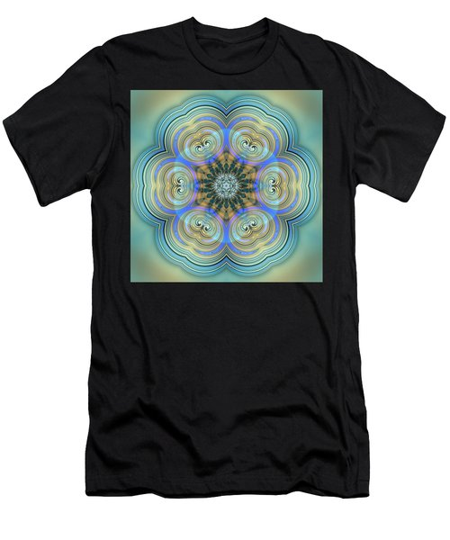 Men's T-Shirt (Athletic Fit) featuring the digital art Jyoti Ahau 140 by Robert Thalmeier