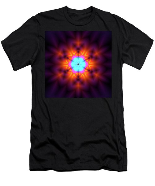 Men's T-Shirt (Athletic Fit) featuring the digital art Jyoti Ahau 216 by Robert Thalmeier