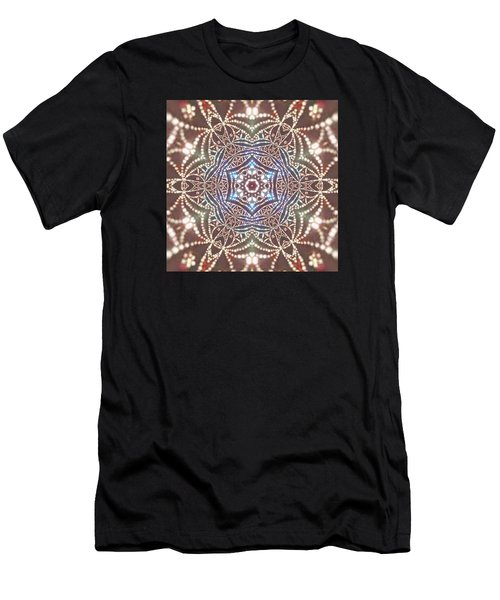 Men's T-Shirt (Athletic Fit) featuring the digital art Jyoti Ahau 6 by Robert Thalmeier