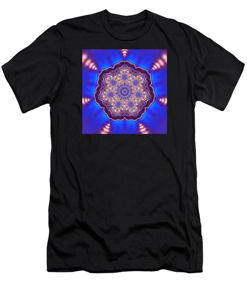 Men's T-Shirt (Athletic Fit) featuring the digital art Jyoti Ahau 8 by Robert Thalmeier