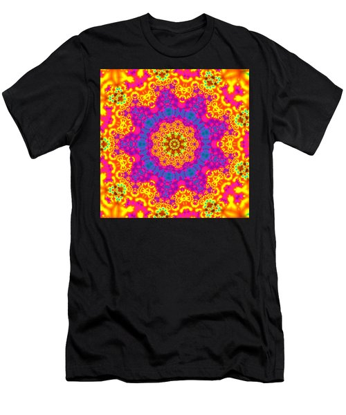 Men's T-Shirt (Athletic Fit) featuring the digital art Jyoti Ahau 83 by Robert Thalmeier