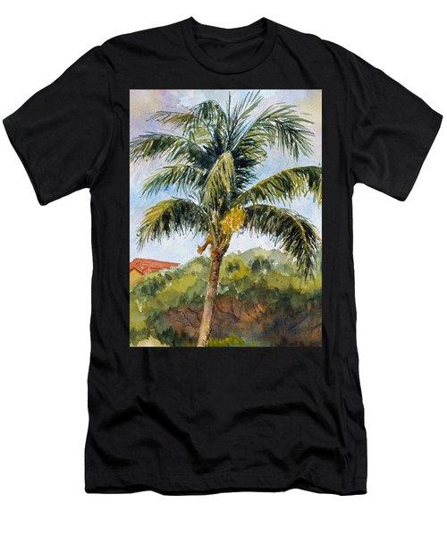 Kaanapali Palm Men's T-Shirt (Athletic Fit)