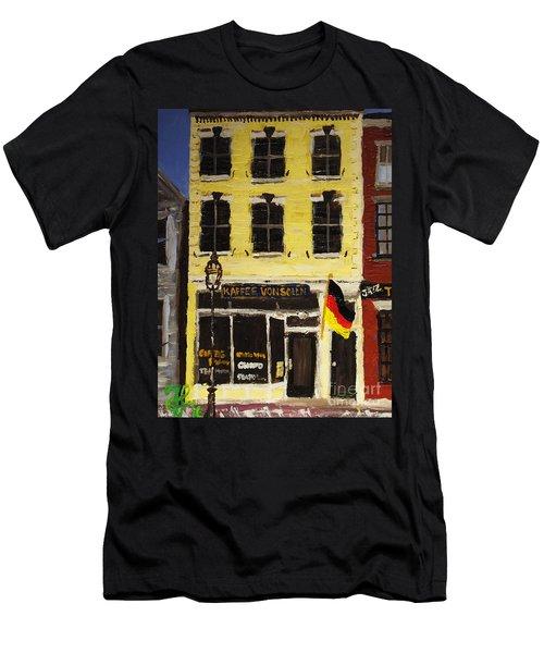 Kaffee Vonsolln Men's T-Shirt (Athletic Fit)
