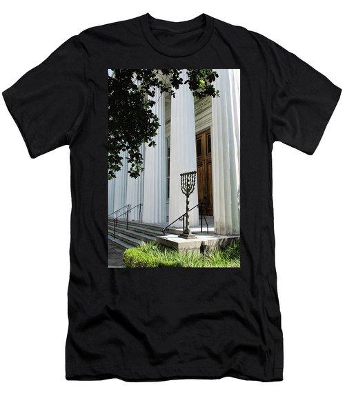 Kahal Kadosh Beth Elohim Men's T-Shirt (Athletic Fit)