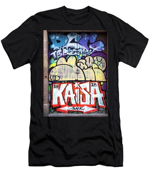 Kaisa In Barcelona Men's T-Shirt (Athletic Fit)