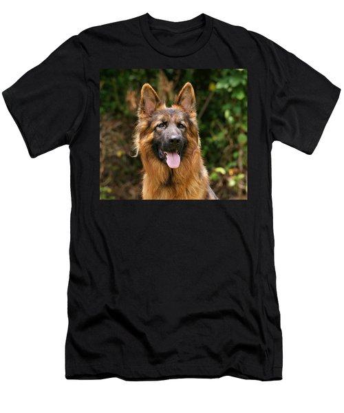 Kaiser - German Shepherd Men's T-Shirt (Athletic Fit)