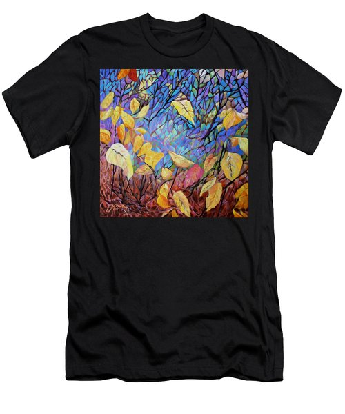 Kaleidescope Men's T-Shirt (Athletic Fit)