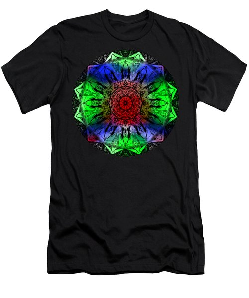 Kaleidoscope Men's T-Shirt (Athletic Fit)