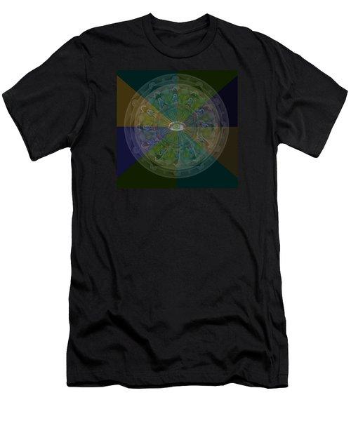 Kaleidoscope Eye Men's T-Shirt (Athletic Fit)