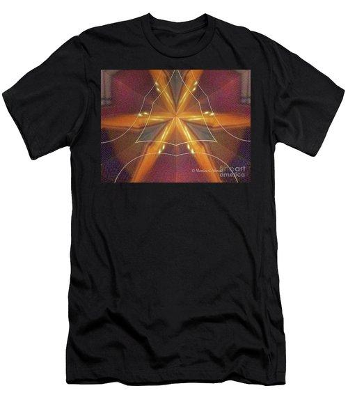 Kaleidoscope Mirror Effect M7 Men's T-Shirt (Athletic Fit)