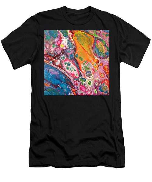 Kaleidoscope Revisited Men's T-Shirt (Athletic Fit)