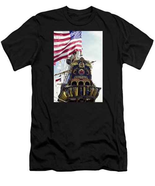 Kalmar Nyckel Tall Ship Men's T-Shirt (Athletic Fit)