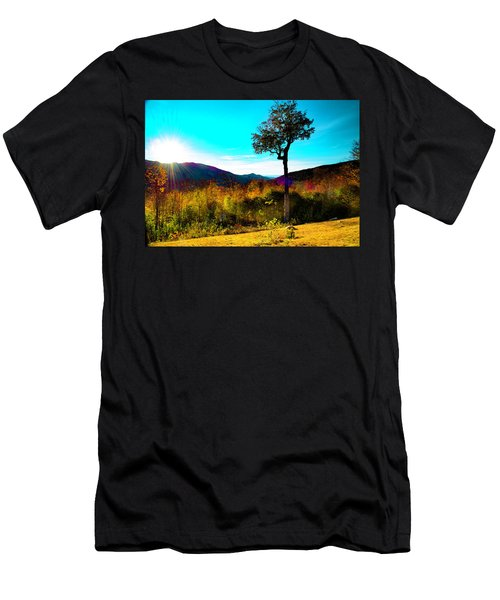 Kancamagus Sunset Men's T-Shirt (Athletic Fit)