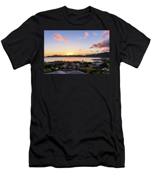 Kaneohe Bay Sunrise 1 Men's T-Shirt (Athletic Fit)