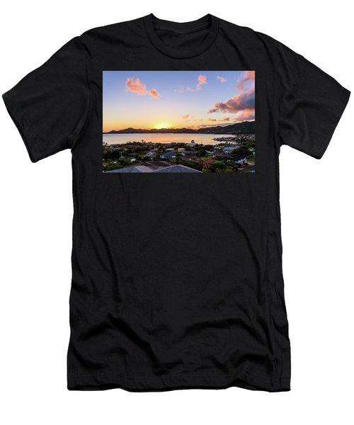Kaneohe Bay Sunrise 1 Men's T-Shirt (Athletic Fit)