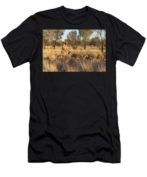Kangaroo Sanctuary Men's T-Shirt (Athletic Fit)